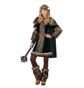 Déguisement Viking Nordique pour femme