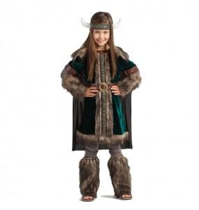 Déguisement Viking Nordique pour fille