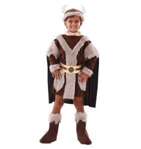 Déguisement Viking marron garçon