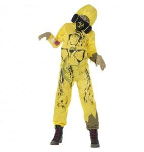 Déguisement zombie radioactif garçon