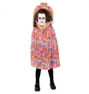 Déguisement Zombie sans tête fille
