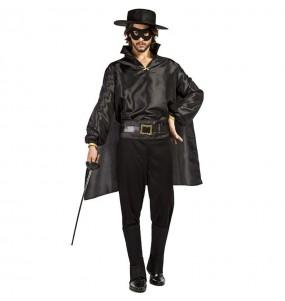 Déguisement Zorro masqué homme