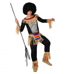 Déguisement Zulu pour homme