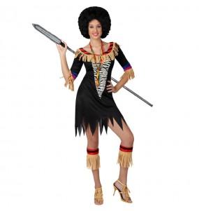 Déguisement Zulu femme