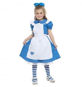 Déguisement conte d'Alice fille