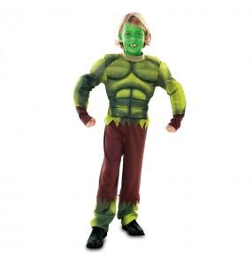Déguisement Monstre Hulk pour garçon