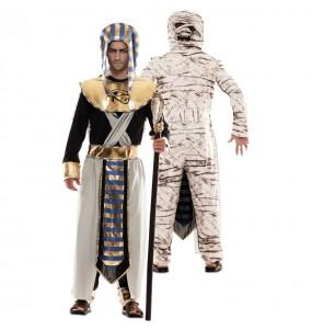 Déguisement double Égyptien et Momie adulte