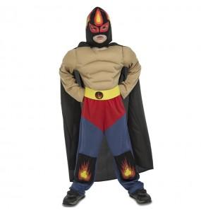 Déguisement Catcheur Mexicain Rey Mysterio pour garçon