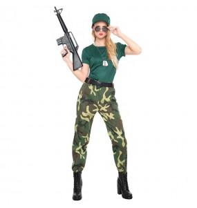 Déguisement Paramilitaire pour femme