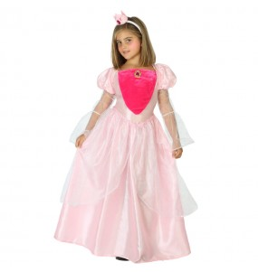 Déguisement Princesse Rose Deluxe pour fille