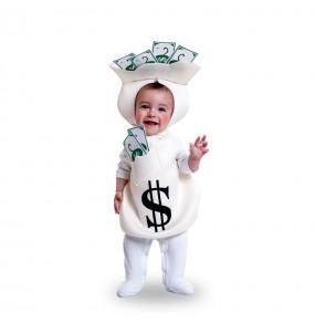 Déguisement Sac d'argent pour bébé
