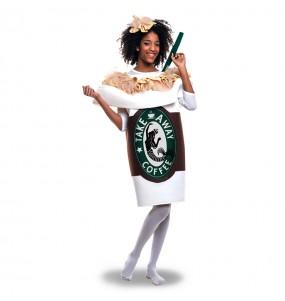 Déguisement Tasse à Café Starbucks adulte