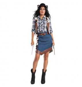 Déguisement Cowgirl Wild West pour femme
