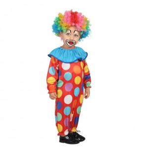 Déguisement Petit Clown Multicolore bébé