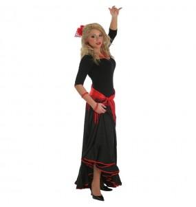 Jupe Flamenco noire