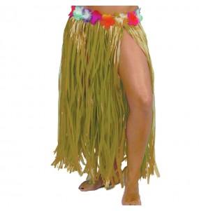 Jupe Hawaï longue Jaune
