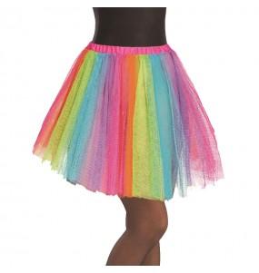 Jupe tutu Multicolore femme