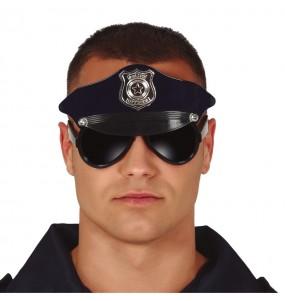Lunettes avec casquette Policier