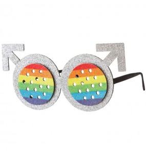 Lunettes Rondes Rainbow