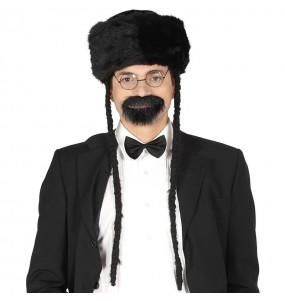 Chapeau Rabbin avec tresses