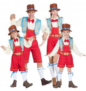 Groupe Pinocchio marionnettes
