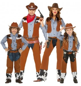 Groupe Cowboys Western
