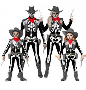 Groupe Squelettes Cowboy