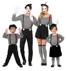 Groupe Mimes Clown