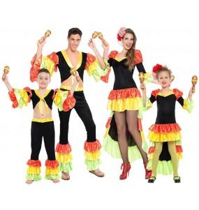 Groupe Danseurs Rumba Maracas