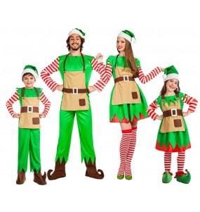Groupe Elfes Père Noël