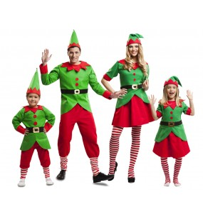 Groupe Elfes Noël Santa Claus