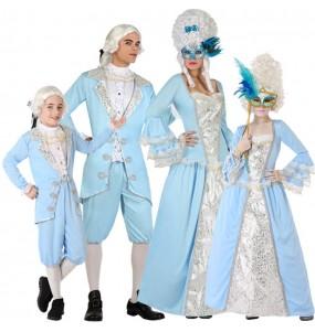 Groupe Vénitiens Époque Bleus