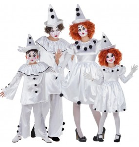 Groupe Clowns Pierrot