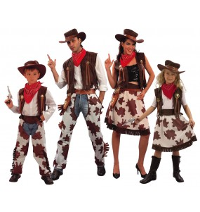 Groupe Famille Cow Boys