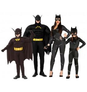 Groupe Batman et Catwoman