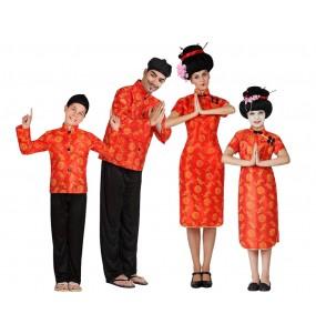 Groupe Chinois Rouges et Jaunes
