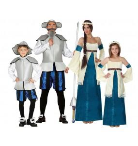 Groupe Don Quichotte et Dulcinée Bleus