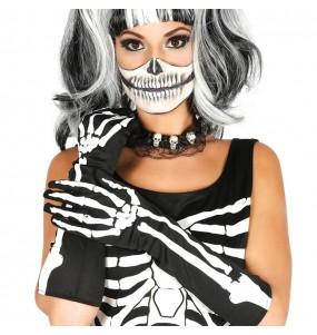 Gants Squelette longs