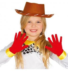 Gants rouges enfants