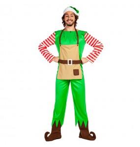 Déguisement Elfe Noël pour homme