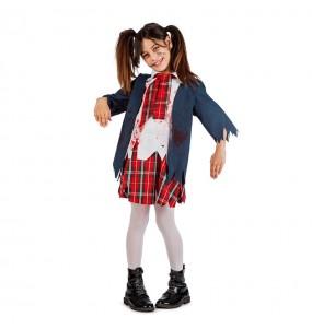 Déguisement Écolière Zombie Enfant