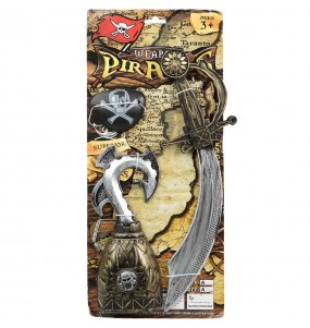 Kit accessoires costume Capitaine Pirate