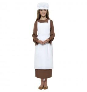 Kit accessoires costume Servante Médiévale