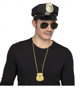 Kit costume Agent Police