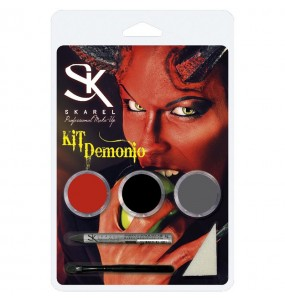 Kit Maquillage Diable Halloween