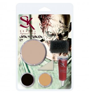 Kit Maquillage Zombie Halloween