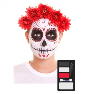 Kit Maquillage de Catrina Halloween