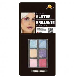 Kit maquillage ombres Glitter