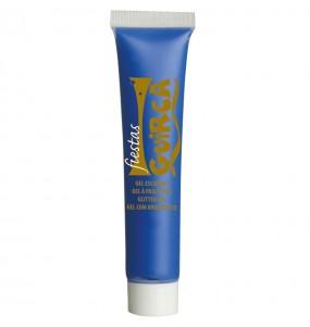 Maquillage Aquacouleur bleu foncé