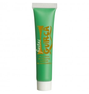 Maquillage Aquacouleur vert clair
